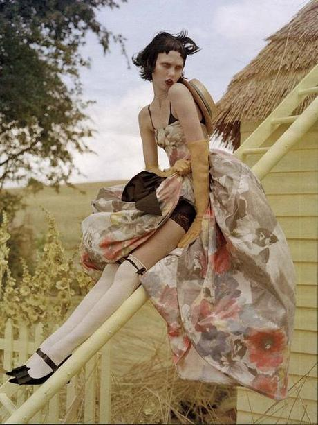 Tim Walker For Vogue magazine -  style by jacob K