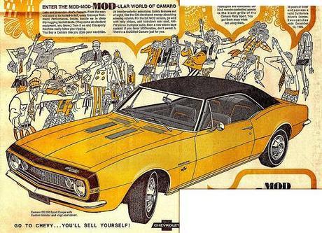 Car in Publicity -  Vintage