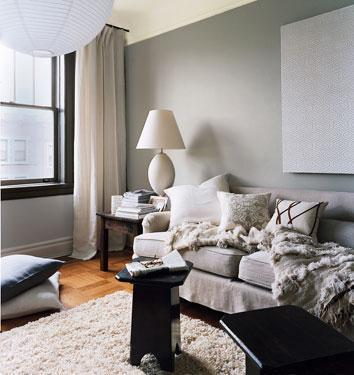 Beauty from Domino - Rooms in a neutral palette