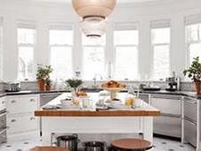 Bright Cheery Kitchens
