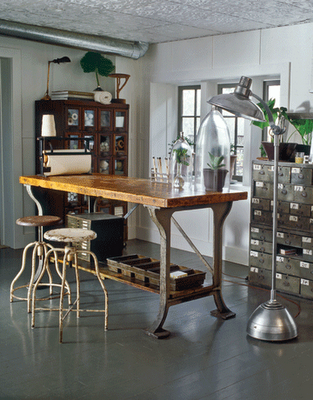 Making industrial style furnishings work for you
