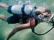 Scuba Diving Abyss Exploring