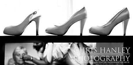 Bridal shoes with bags of class and sexy heels