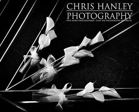 Beautiful imagery of the wedding flowers: sleek and stylish