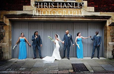 As with every Chris Hanley Photography shoot, there's a fantastic fun group shot - and Steph steals the show!