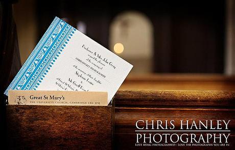 The wedding invitation!