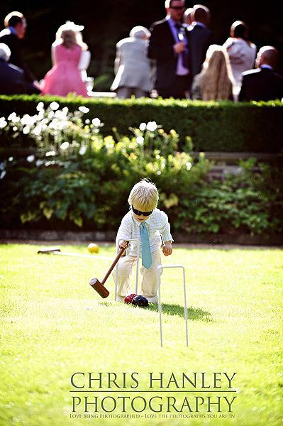 Those are definitely croquet champion's sunglasses. How cool, and how cute?!!!