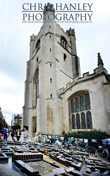 Great St Mary's Church, Cambridge - from a great angle, looking awe inspiring