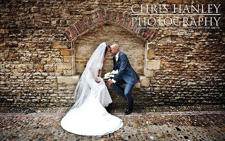 A beautiful portrait of Geoff and Steph on the cobbled streets of Cambridge - there's a real sense of history here, and I wonder how many generations of newlyweds have kissed here