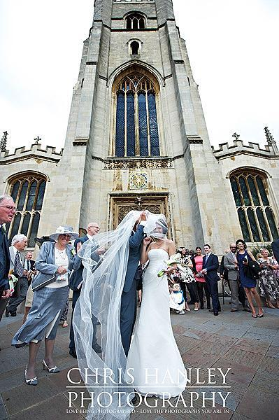 Geoff in his cathedral length veil...