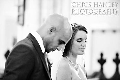 The marriage service - a serious moment for Geoff and Steph