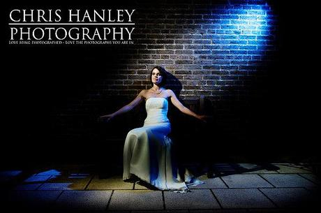 Steph in the spotlight. How beautiful is she, how lovely is the blue glow of the lighting... rhetorical question. Wow.