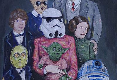 Unofficial Star Wars Family Portraits