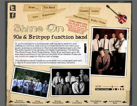 Shine On Wedding Band official website