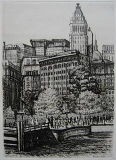 Two visions of New York: Walter Pach and Adriaan Lubbers