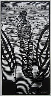 With the grain: the woodcuts of René Quillivic