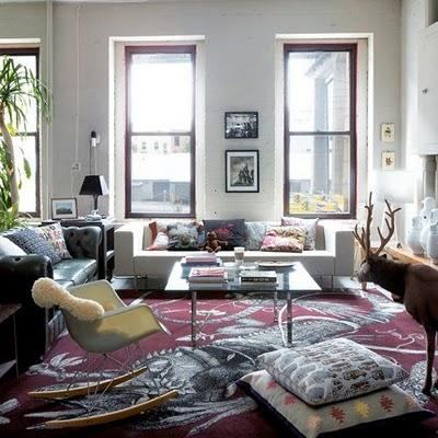 A potpourri of modern but cozy interiors