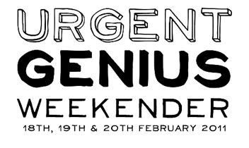 Urgent Genius Weekender