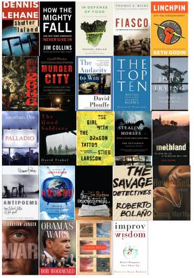 Jim's 2010 Book List