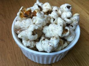 Popcorn with Orange Zest (sweet)
