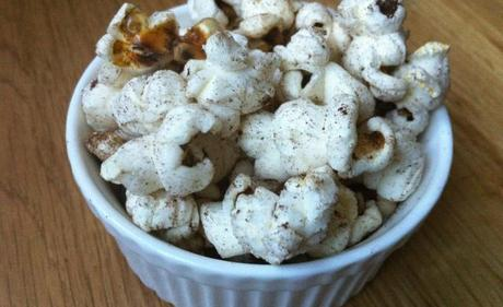 Popcorn with Orange Peel, Koffee and Sugar