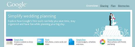 google wedding planning tools overview