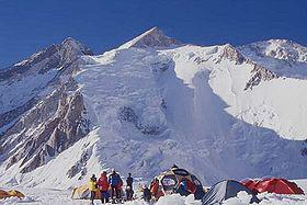 Climbing and Descending Gasherbrum II In Winter