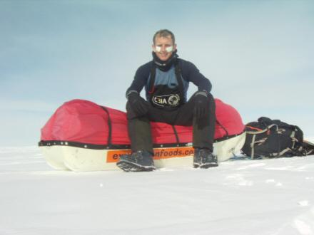 CheapTents.Com Interviews Polar Adventurer Chris Foot