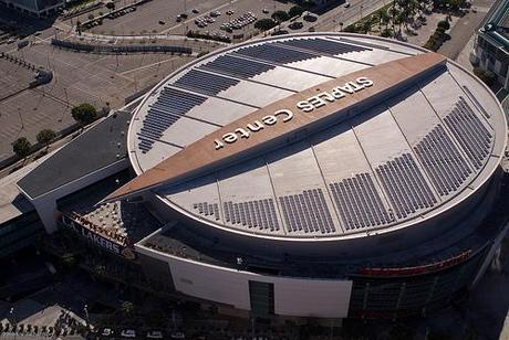 Los Angeles' Staples Center Rooftop Solar Array