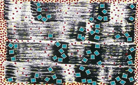 "Community - Rod Jones Artist - Oil on Canvas-48""w x 30""h"