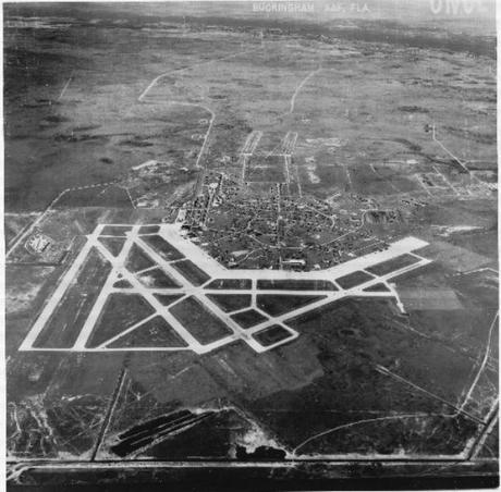 Buckingham Army Airfield Aerial View