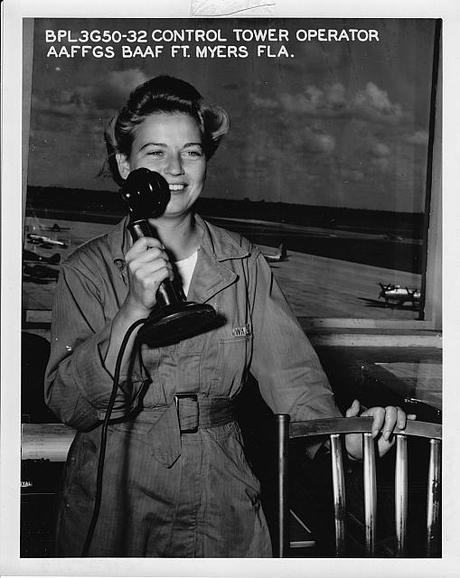 WAC Air Controller - Buckignham Army Airfield Florida
