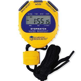 A stopwatch will not lie