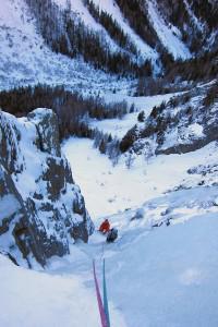 ice climbing Trient