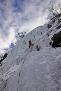 ice climbing Argentiere