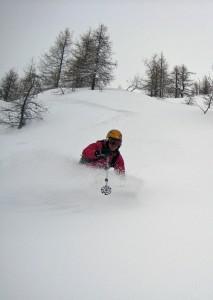 skiing Pres de Rocher Chamonix