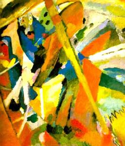 St. George I -Wassily Kandinsky 1911 oil on canvas