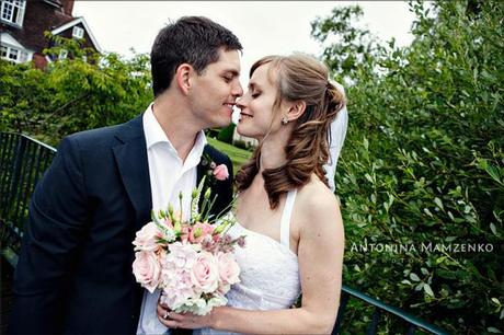 Rob and Gemma - a gorgeous bride and groom