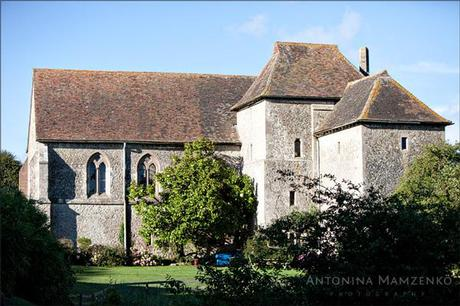 St Augustine's Priory wedding venue in Kent