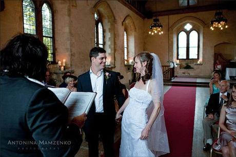 Gemma is the most amazing looking bride - and those smiles are wonderful