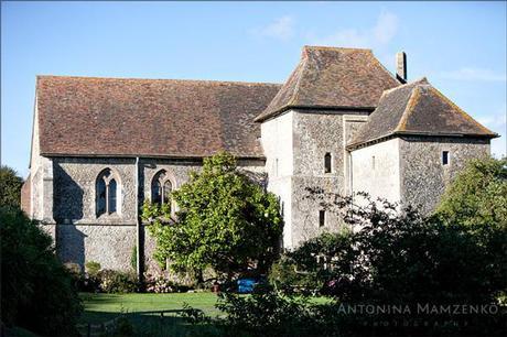 St Augustine's Priory wedding venue in Kent