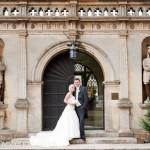 Wedding of Derek Roswell and Daniela Cormano at Rushton Hall by photographer Sarah Vivienne