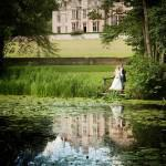 Wedding of Derek Roswell and Daniela Cormano at Rushton Hall by photographer Sarah Vivienne