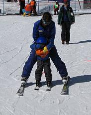 Acknowledging Fitness Needs and Learning to Ski through Parenting-Life