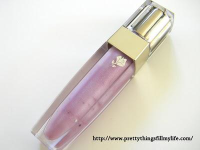 Lancome Color Fever Gloss in Lavande Ballerine is like Fields of Lavender on My Lips