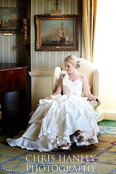 Such a beautiful bride, such a heavenly image - my favourite from this Brocket Hall wedding
