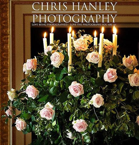 Candelabra with exquisite pink roses - opulent and stunning