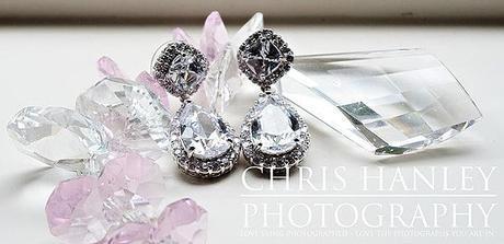 Amy's beautiful diamond earrings