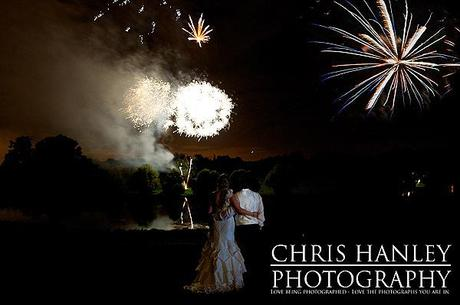 And the grand finale for the wedding day is a spectacular firework display