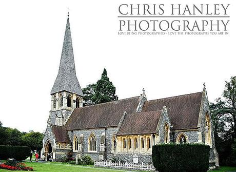 The prettiest little English church